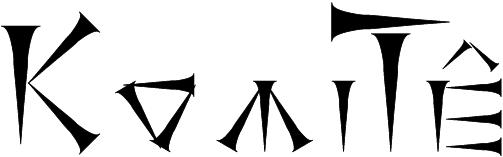 Logo KomiTunéiforme version 3