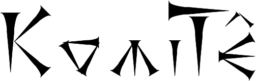 Logo KomiTunéiforme version 4